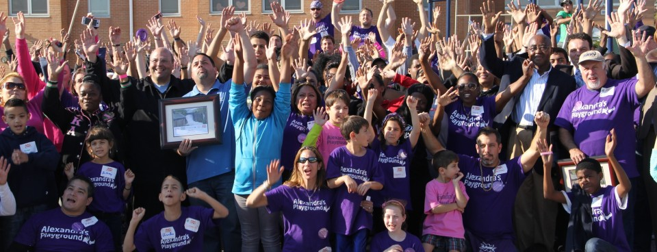We built an amazing new playground for Paterson, NJ on October 25th!