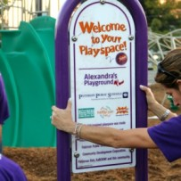 Paterson, NJ playground build day